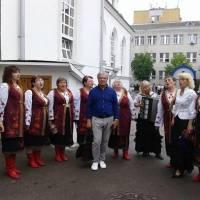 Відкриття пам'ятника Івана Огієнка в м.Житомирі