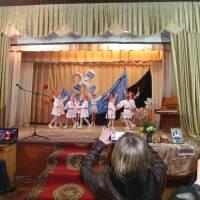 Виступ танцювального колективу селищного Будинку культури