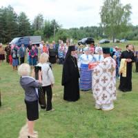 Зустріч духовенства Київського  Патріархату в с.Яструбенька