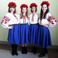 Танцювальний колектив Ставищенської сільської ради на конкурсі