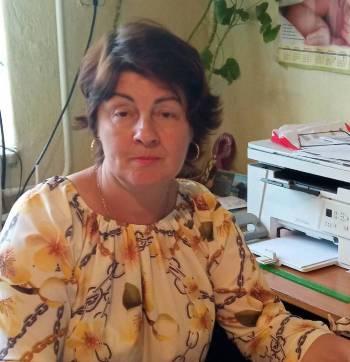 Пацкан Анжеліка Василівна -  в.о старости села Новобарово