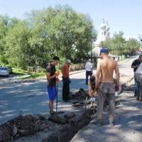 Ремонт тротуару по вул. Карпатській (