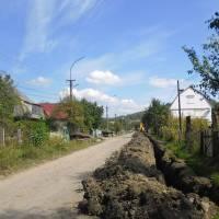 Заміна водопроводу по вул. Фабрична 1