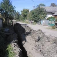 Заміна водопроводу по вул. Фабрична 2