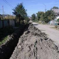Заміна водопроводу по вул. Фабрична 3