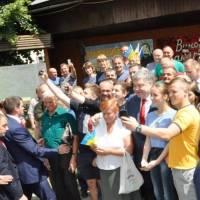 Президент України у Воловці 2