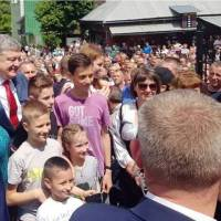 Президент України у Воловці 3