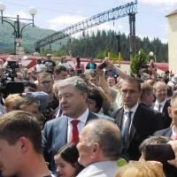 Президент України у Воловці 5