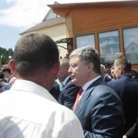 Президент України у Воловці 6