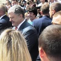 Президент України у Воловці 7