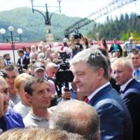 Президент України у Воловці 8