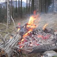 Боржава_ватра в горах