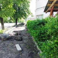 Ремонт тротуарів вул. Карпатська - 3