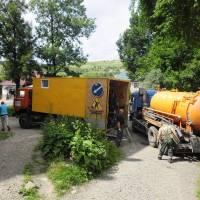 Чистка каналізації вул. Карпатська, 40
