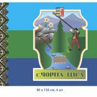 Прапор села Чорна Тиса