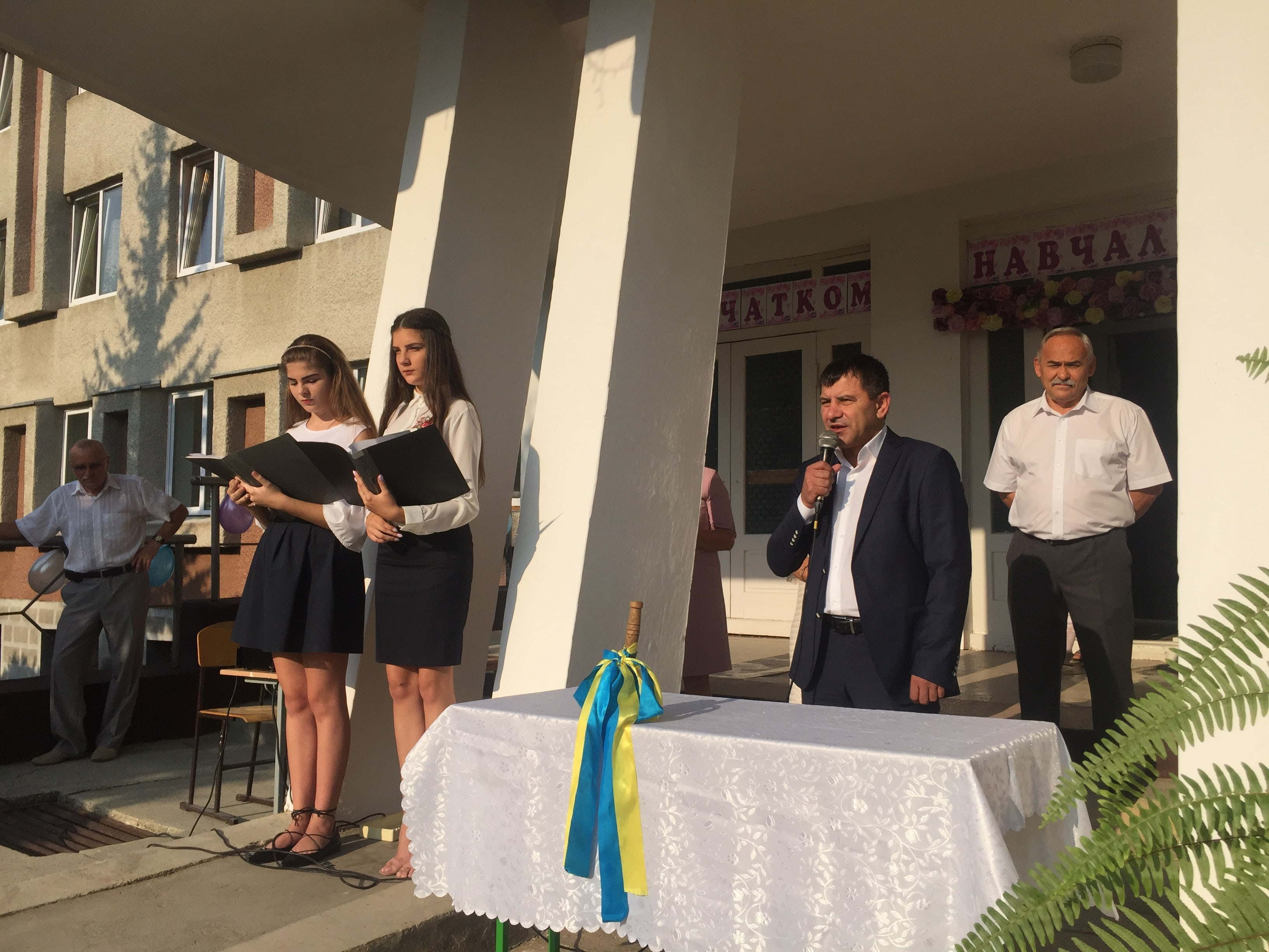 Як у школах Полянської об'єднаної територіальної громади пройшли урочисті лінійки 1 вересня – на День знань.