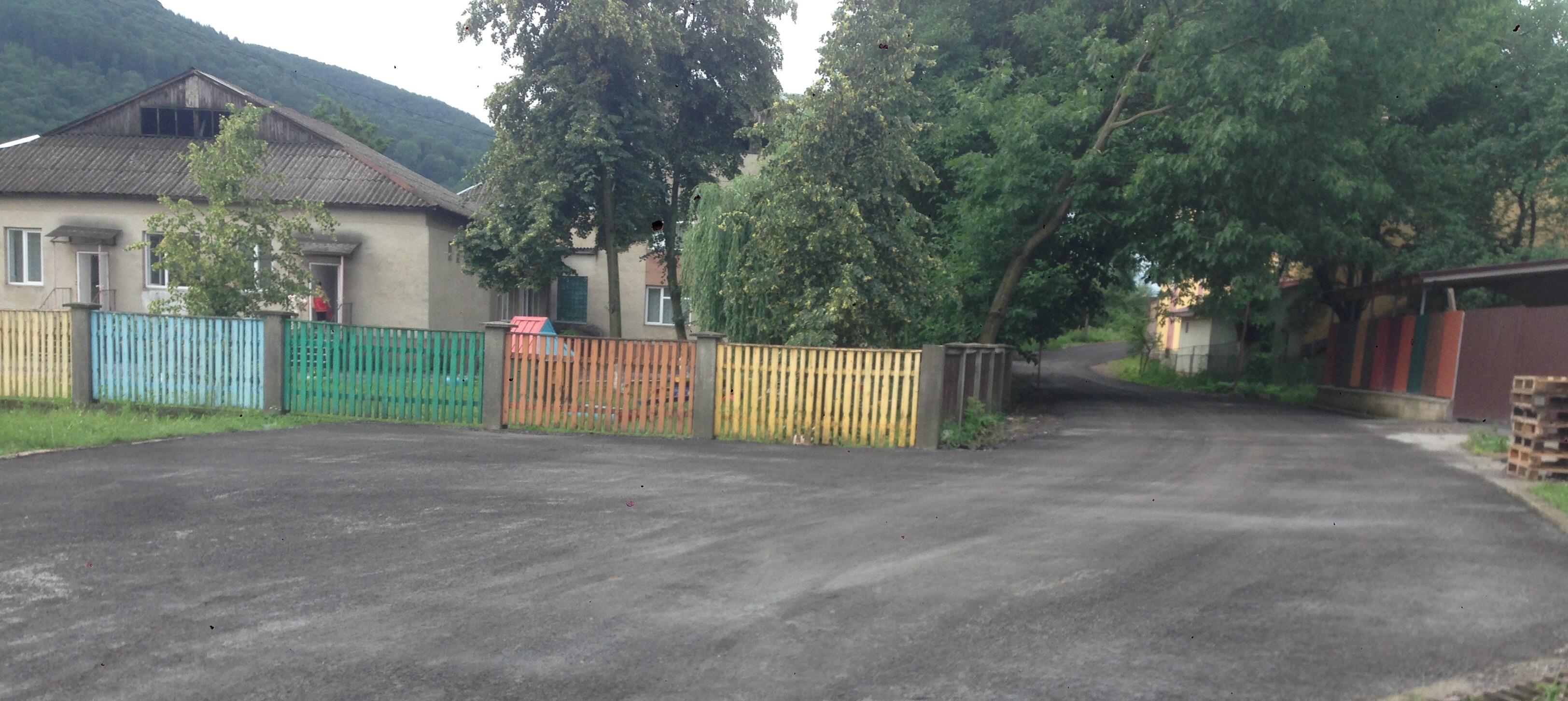 В с. Поляна виконано капітальний ремонт вулиці Борканюка.