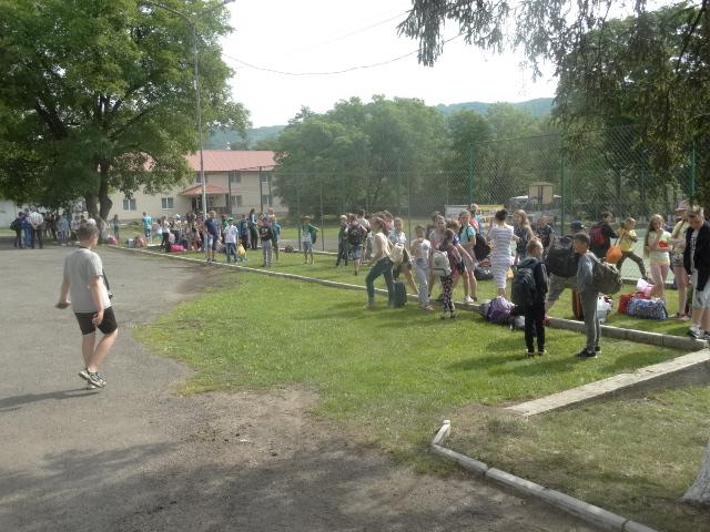 В Полянській ОТГ відкрився оздоровчий  табір «Олімпія»