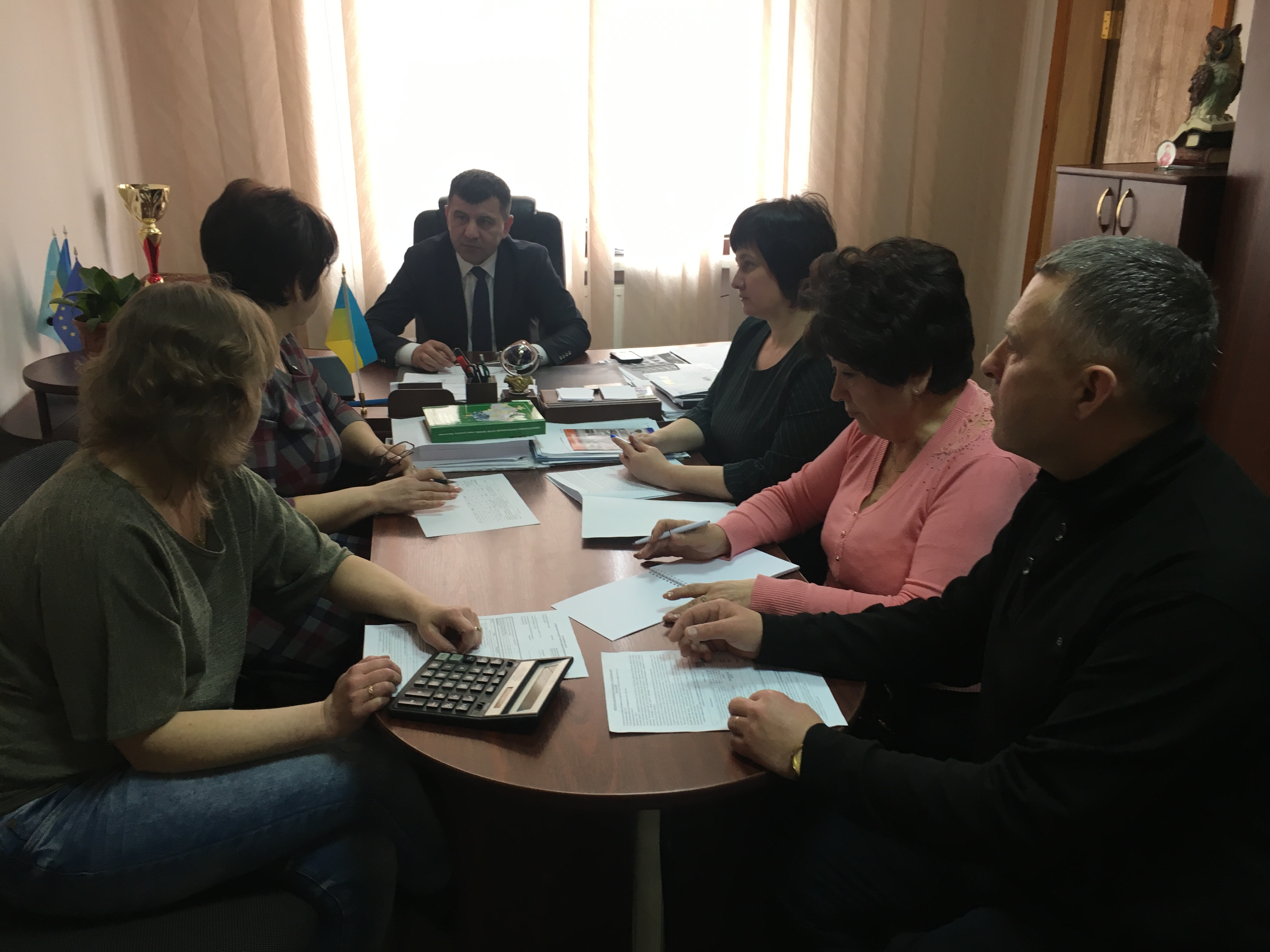 На базі Полянської сільської ради відбулося засідання «З питань реформи первинної медицини»