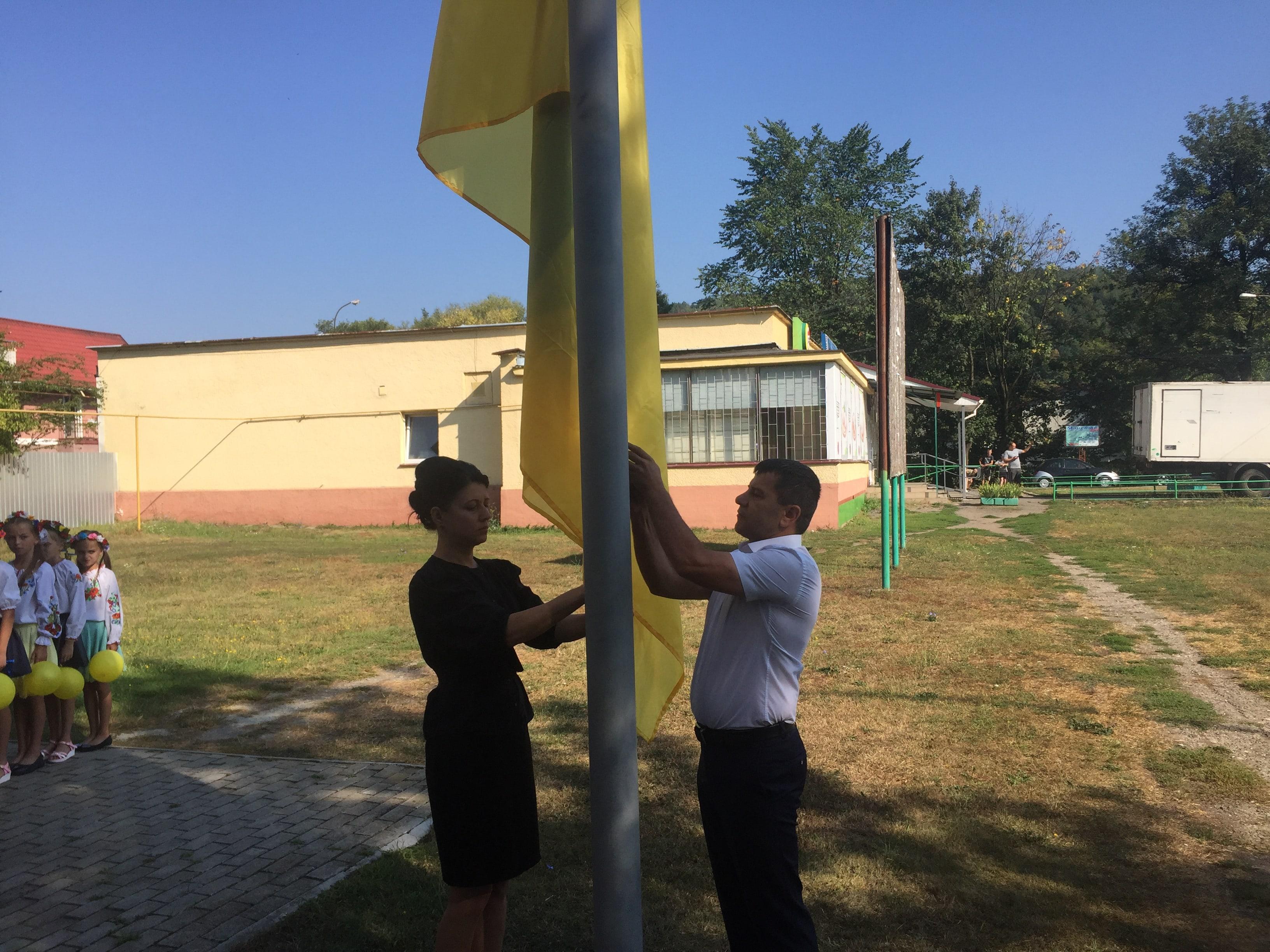 Полянська об'єднана територіальна громада святкує День Прапора та 27-ту річницю з Дня проголошення незалежності України.