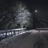 дорога між Поляною та Уклином