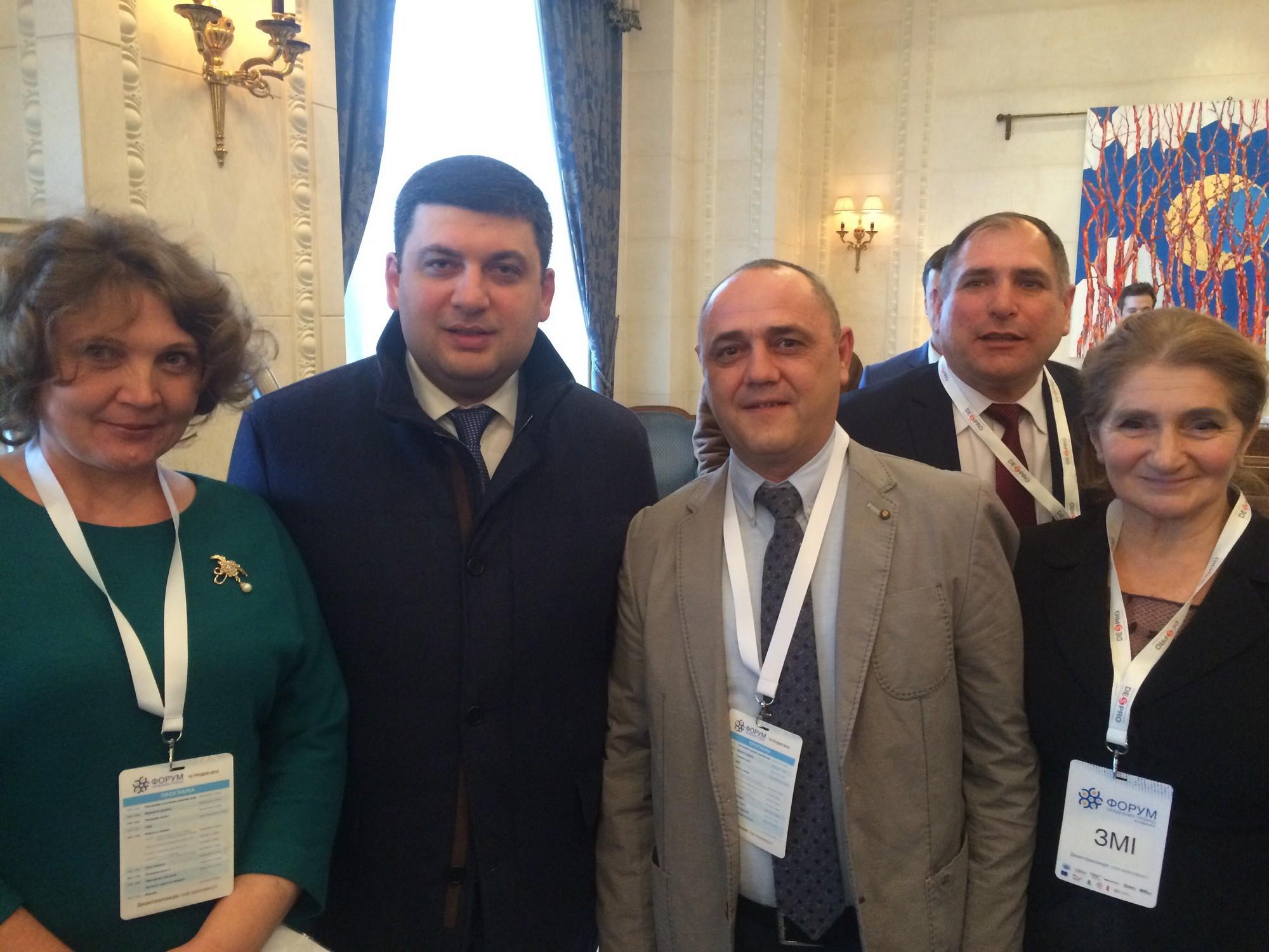 Голова  Вільховецької громади взяв участь в засіданні Ради регіонального розвитку під головуванням Президента України та за участі Прем'єр Міністра і Уряду