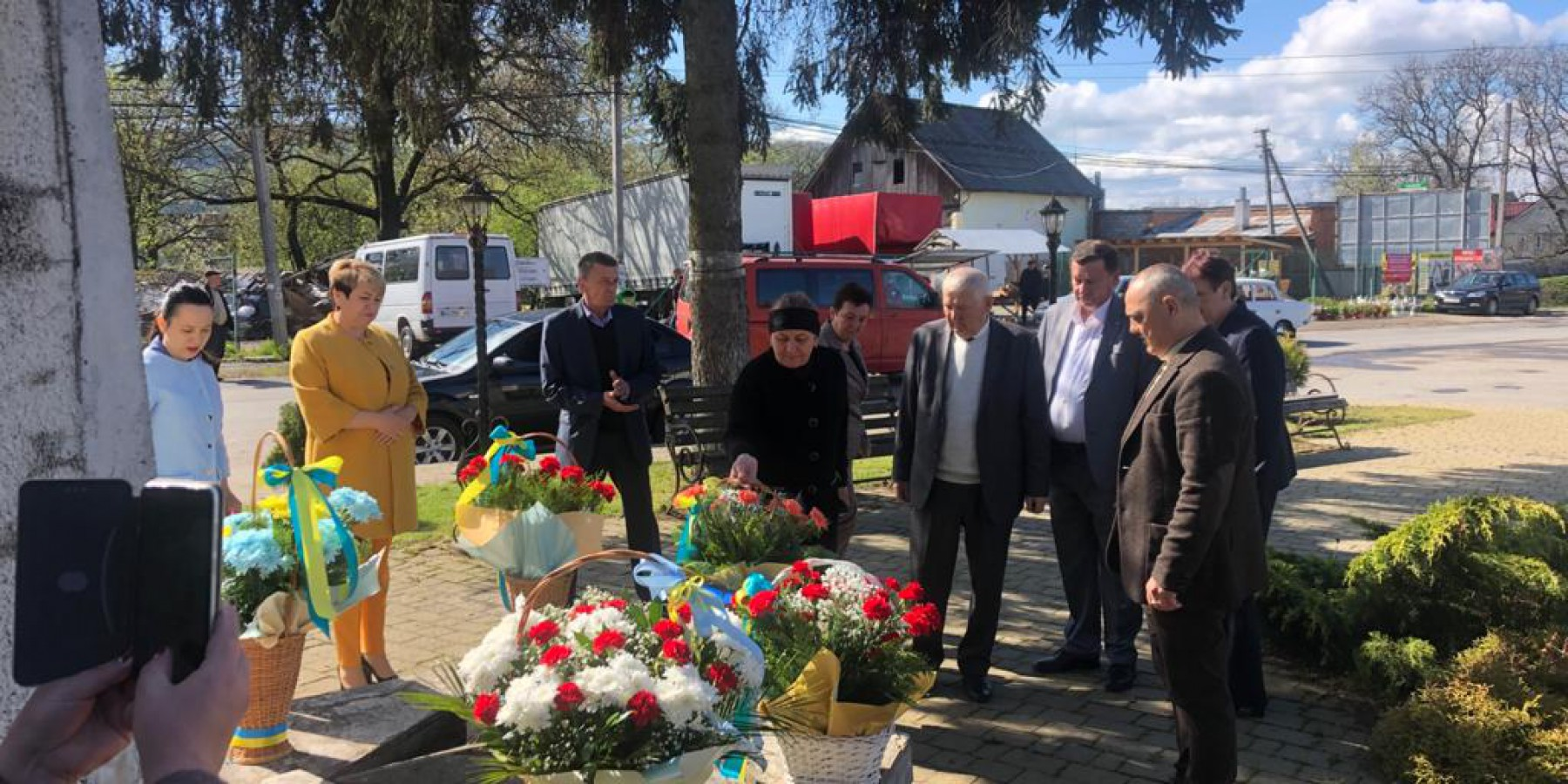 У Вільховецькій громаді відзначили День Перемоги над фашизмом (фоторепортаж)