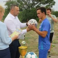 Футбольний матч 95 річниці Бердянського району