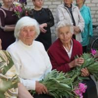квіти ветеранам – педагогам