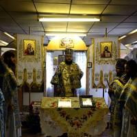 Епископ Ефрем, богослужение в с.Смирново