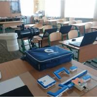 Перший клас Олексіївського НВК (обладнання для природничіх кабінетів)