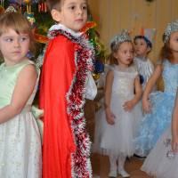 Новий рік 2017 в дитсадку колосок старша група