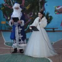 Свято нового року в Олексіївській ЗОШ