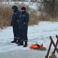 Водохреща села Смирнове 2017, працівники МЧС