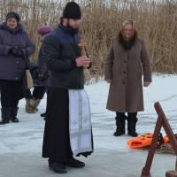 Водохреща село Смирнове 2017, Отець Георгій
