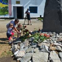 Відкриття меморіального пам'ятника жертвам політичних репресій