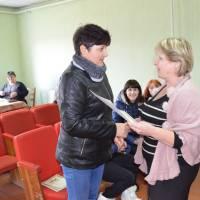 День працівників культури, привітання Шебеді Тетяні Володимирівній