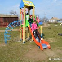Новий дитячий майданчик у с. Олексіївка