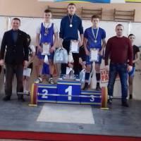 чемпионат области по тяжёлой атлетике среди юниоров