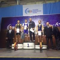З 7 по 12 жовтня в місті Миколаїв проходив чемпіонат України з важкої атлетики серед юнаків та дівчат 2003 року народження та моложе