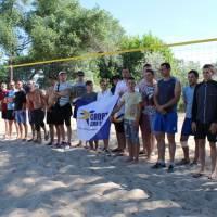 Відкриття спортивного майданчика для пляжного волейболу в с. Водяне