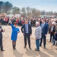 Урочисте відкриття очисних споруд с. Біленьке 07 квітня 2017 року