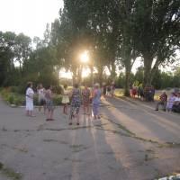 Танцювальний вечір в с. Біленьке