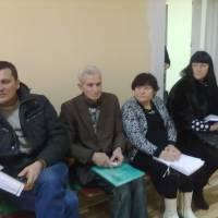 Зустріч депутатів Мар'ївської сільської ради та керівників господарств з головою та першим заступником Запорізької райдержадміністрації