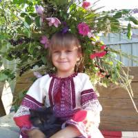 Бойко Софія 7 років с.Воскресенка