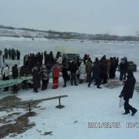 свято Водохреща в селі Кінські Роздори