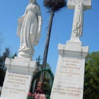 Могила спочинку баронів Чеховичів які поофірували землю під церкву