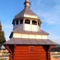Церква Покрови Пресвятої Богородиці 1823 року, дзвіниця