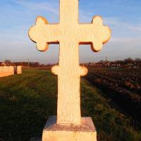 Кам'яний хрест на честь скасування панщини в 1848 році