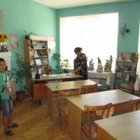 Бібліотека села Матеївці